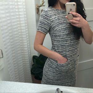 Tweed work dress